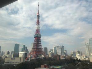ザ・プリンス パークタワー東京 宿泊記・東京タワーを眺望